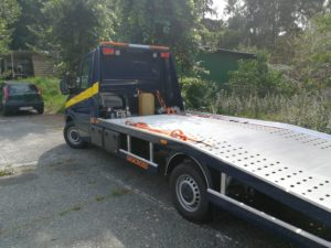 Pomoc drogowa auto laweta holowanie Gdańsk Gdynia Trójmiasto